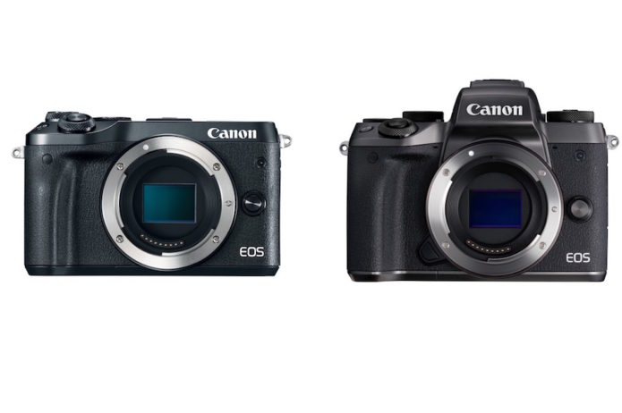 Canon EOS M6 vs EOS M5 Comparison