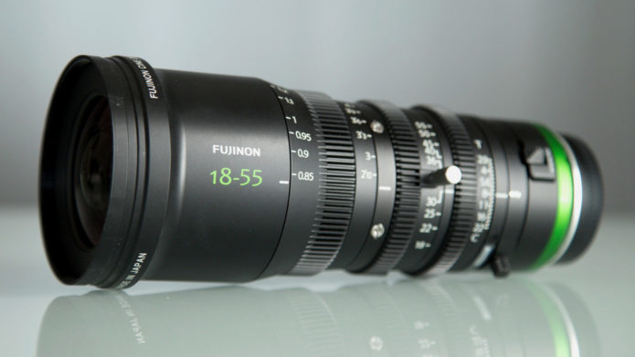 Fujinon MK18-55 T2.9 cine lens : First impressions and shooting experience
