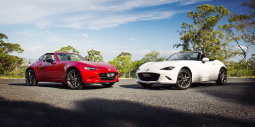 Mazda MX-5 RF vs Mazda MX-5 comparison : Hard top or soft? It's the age-old question even Mazda can't answer