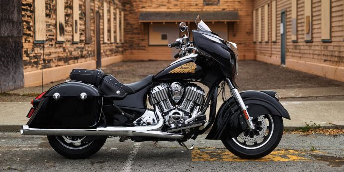 2015 2017 Indian Chieftain Dark Horse Review