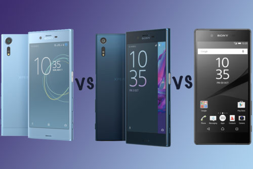 Sony Xperia XZs vs XZ vs Xperia Z5: What's the difference?