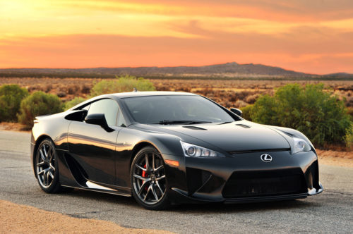 The 10 Fastest Cars From Lexus