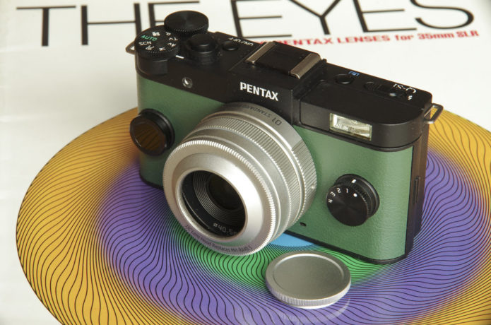 Pentax Q 01 Standard 8.5mm f/1.9 Lens Review