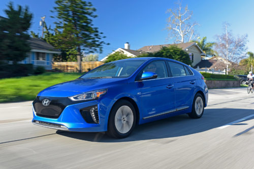 2017 Hyundai Ioniq Electric and Hybrid First Drive: Reaching past the Prius rainbow