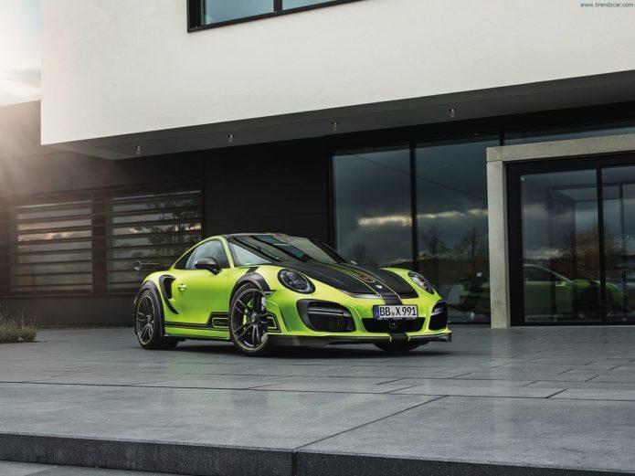 2017-TechArt-GTstreet-R-Porsche-911-Turbo-S-Front-Angle-2