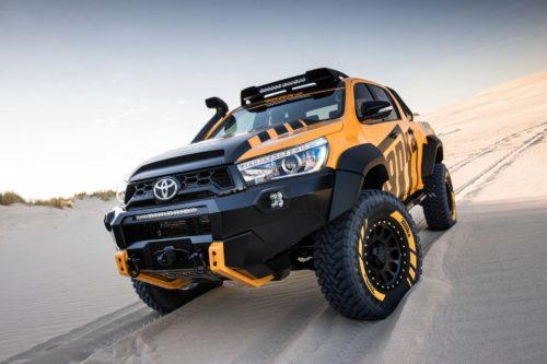 2017 Toyota Hilux Tonka Concept Review