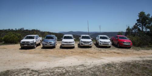 2017 Ute comparison : Ford Ranger v Holden Colorado v Isuzu D-Max v Mitsubishi Triton v Toyota HiLux v Volkswagen Amarok