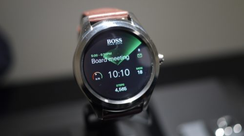 Hugo Boss Touch – First look review :  effortlessly ups the Android Wear design stakes