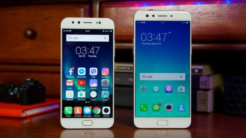 Head-to-head : OPPO F3 Plus VS Vivo V5 Plus
