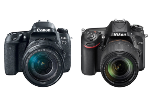 Canon 77D vs Nikon D7200 Comparison