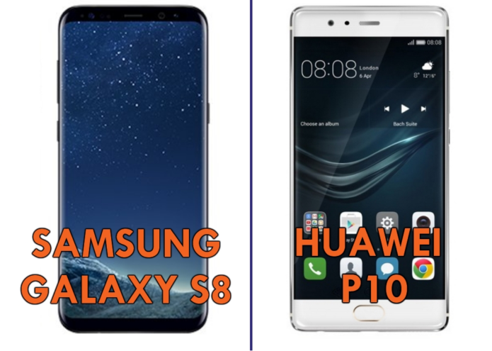 Head-to-Head : Samsung Galaxy S8 VS Huawei P10
