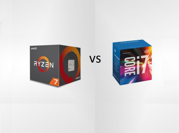 ADM Ryzen 7 1800X vs Intel Core i7-6900K : Benchmark Battle