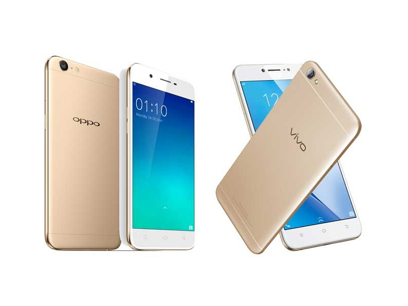 head to head oppo a39 vs vivo v5 lite