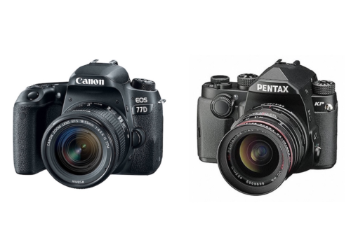 Canon 77D vs Pentax KP Comparison