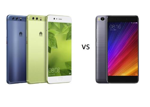 Huawei P10,P10 Plus VS Xiaomi MI5S Comparisons Review
