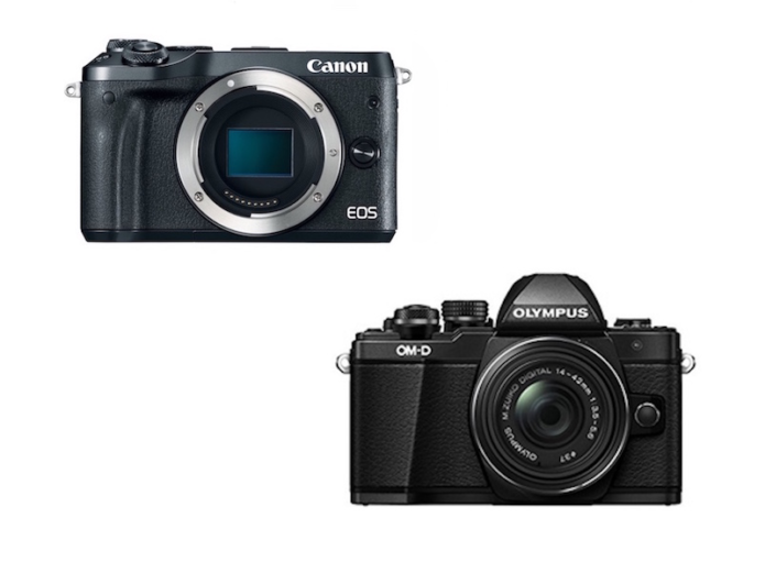 Canon EOS M6 vs Olympus E-M10 II – Comparison