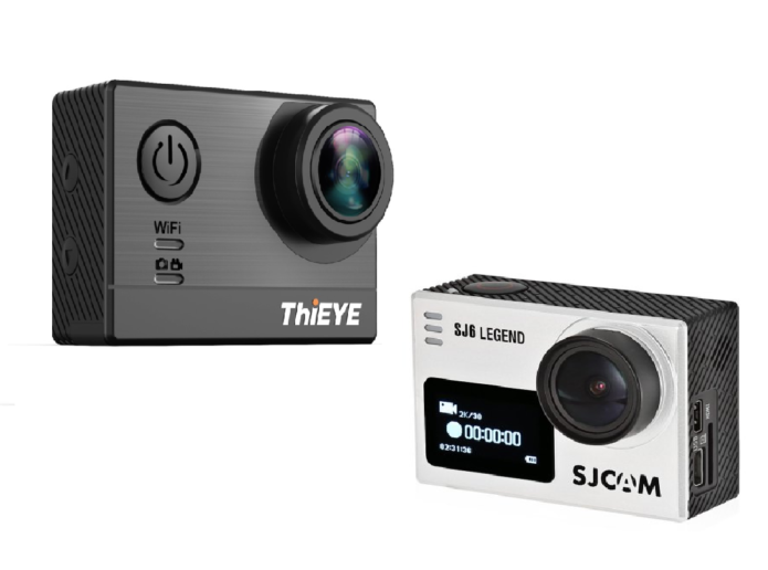 Thieye T5e vs SJCam SJ6 Legend Camera Comparison : Which should you choose?