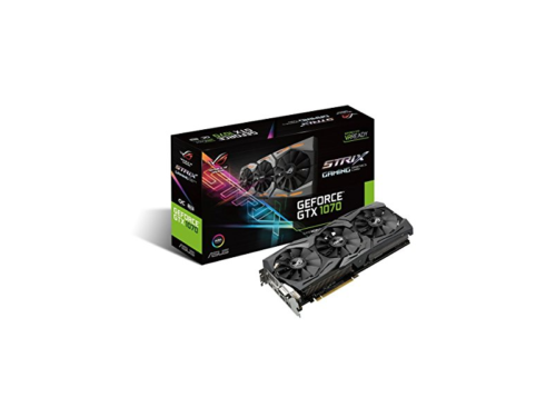 ASUS ROG STRIX GeForce GTX 1070-8G-GAMING review – a champ in low temperatures and lighting effects