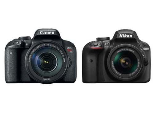 Canon T7i vs Nikon D3400 Specs Comparison