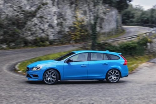 2017 Volvo V60 Polestar First Drive: Feeling Blue