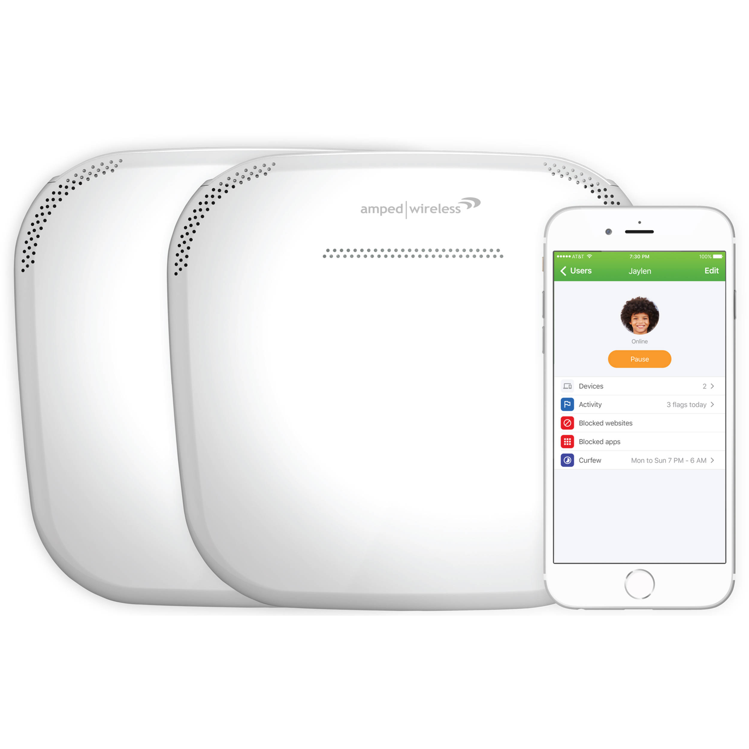 Amped Wireless Ally Plus Whole Home Smart Wi Fi System