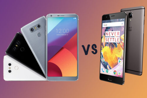 LG G6 vs OnePlus 3T: What's the difference?