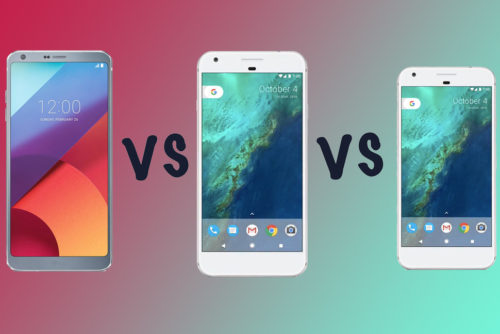 LG G6 vs Google Pixel XL vs Pixel: What's the difference?