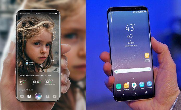 Galaxy S8 vs iPhone 8 : Rumors vs Reality