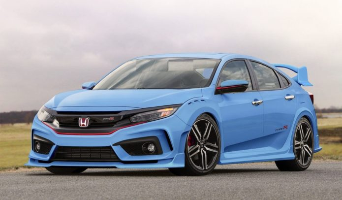 2018 Honda Civic Type R Si Hatchback 4