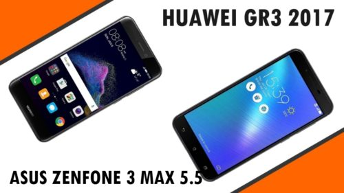 Head-to-Head : Huawei GR3 2017 VS Zenfone 3 Max 5.5