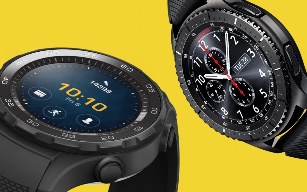 Samsung Gear S3 vs Huawei Watch 2 : Sporty smartwatches go ...