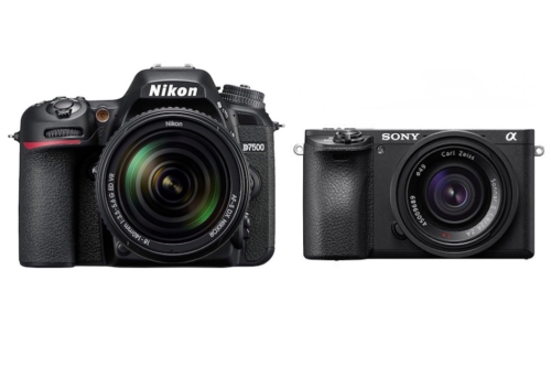 Nikon D7500 vs Sony A6500 – Comparison