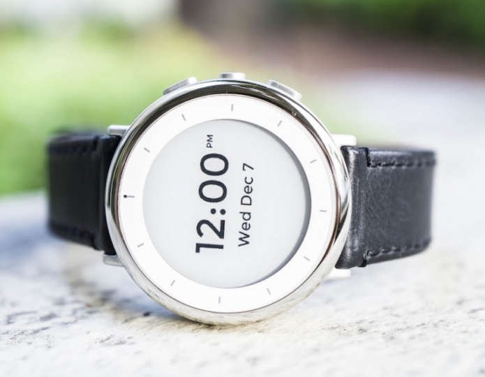 And finally : Alphabet's Verily shows off health-focused Study Watch