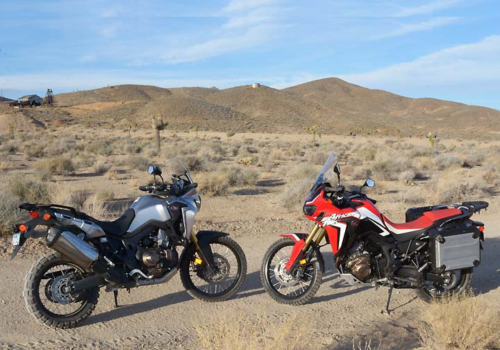 Honda Africa Twin Shootout: DCT Vs. Manual Transmission – Twin on Twin action to determine the preferred gearbox