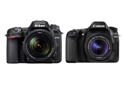 Nikon D7500 vs Canon 80D – Comparison