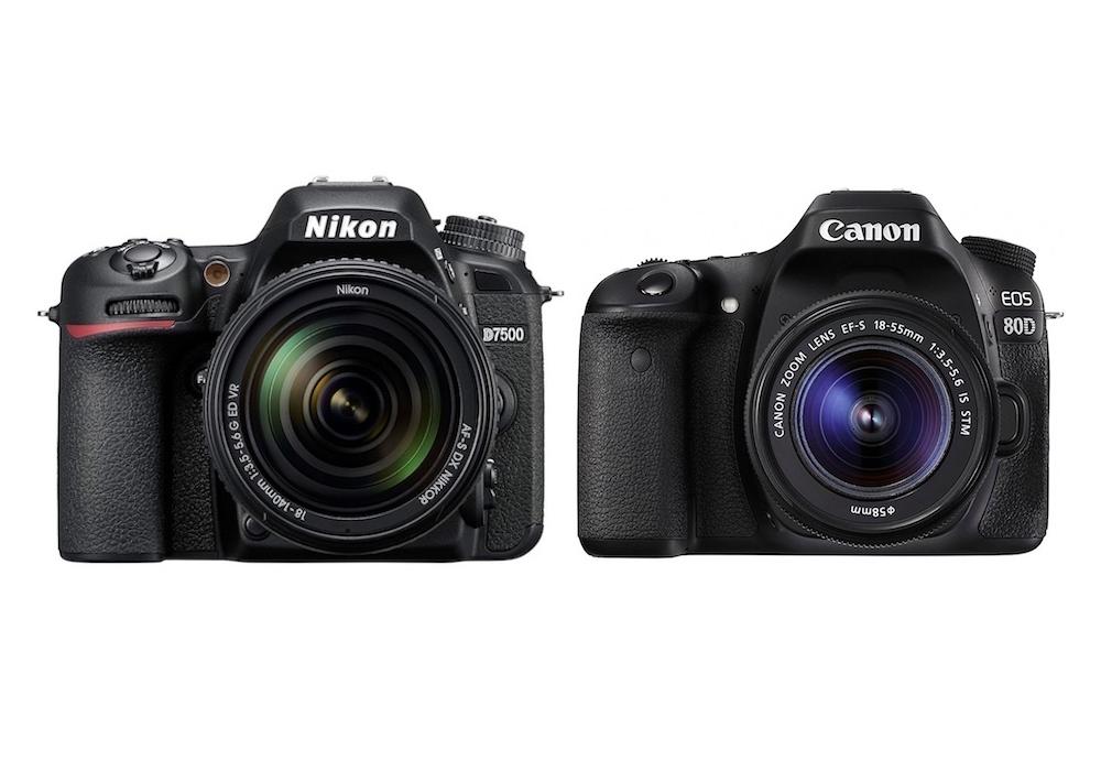 Nikon D7500 Vs Canon 80d Comparison Gearopen
