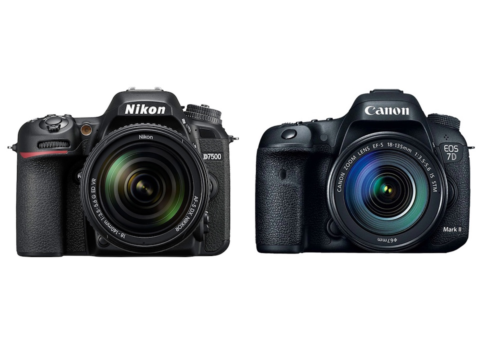 Nikon D7500 vs Canon 7D Mark II – Comparison