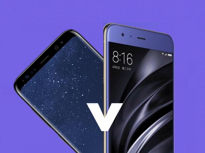 Xiaomi Mi 6 vs Samsung Galaxy S8 specs comparison : A SNAPDRAGON 835 PHONE FOR HALF THE PRICE OF THE GALAXY S8