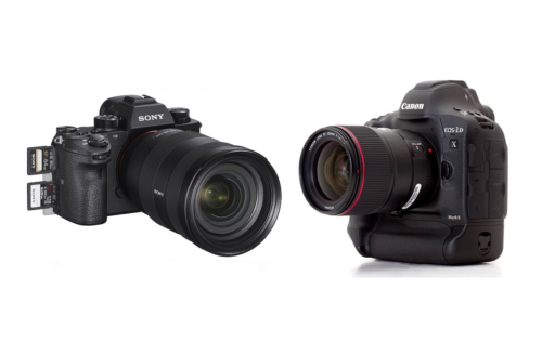 Sony A9 vs Canon 1D X II – Comparison