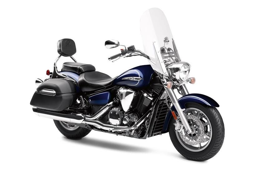Hard Bags And Rear Fender For Yamaha Vstar Custom