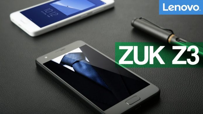 Lenovo ZUK Z3 hands-on review: specifications, design and price, comparison with ZUK Z2