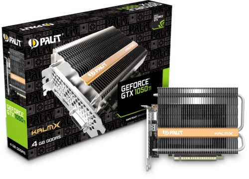 Palit GeForce GTX 1050 Ti KalmX review – high performance at low price and complete silence