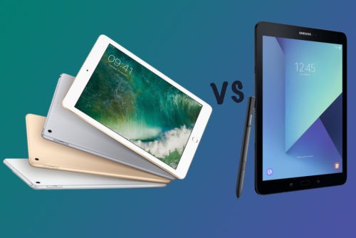 New Apple iPad (2017) vs Samsung Galaxy Tab S3: What's the difference?