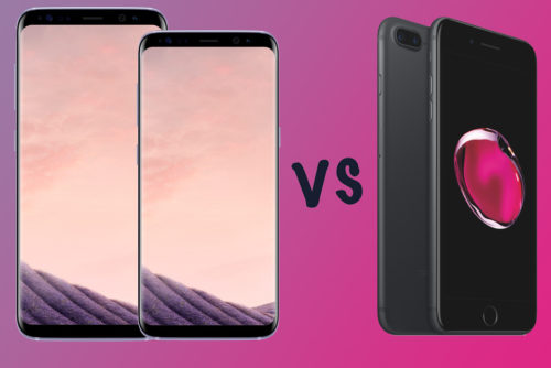 Samsung Galaxy S8 vs S8 Plus vs Apple iPhone 7 Plus: What's the difference?