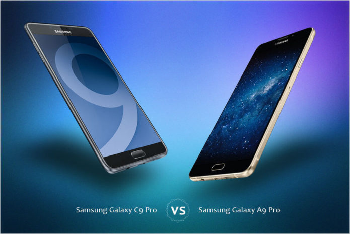 Head-to-Head : Samsung Galaxy C9 Pro VS Samsung Galaxy A9 Pro