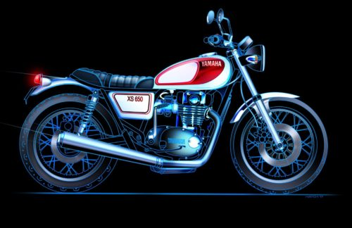 2018 Yamaha XS650 Concept : Should Yamaha expand its Sport Heritage line with something like this?