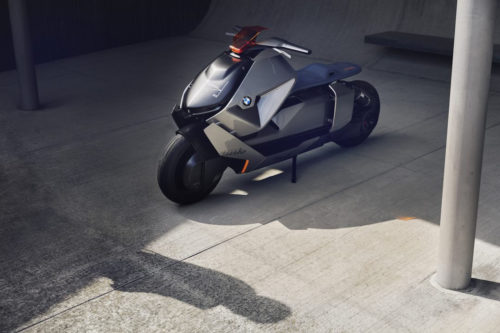 BMW's futuristic electric motorbike concept is an urban-warrior's dream