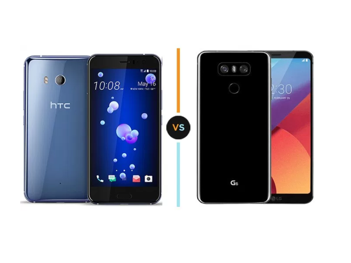 Specs Comparison: HTC U11 vs LG G6