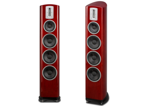 Quad Z-4 Floorstanding Speaker Review : The Quad is big but also rather clever