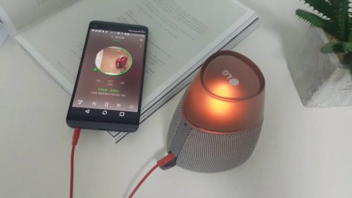 LG PH3 Candle Bluetooth Speaker Quick Review